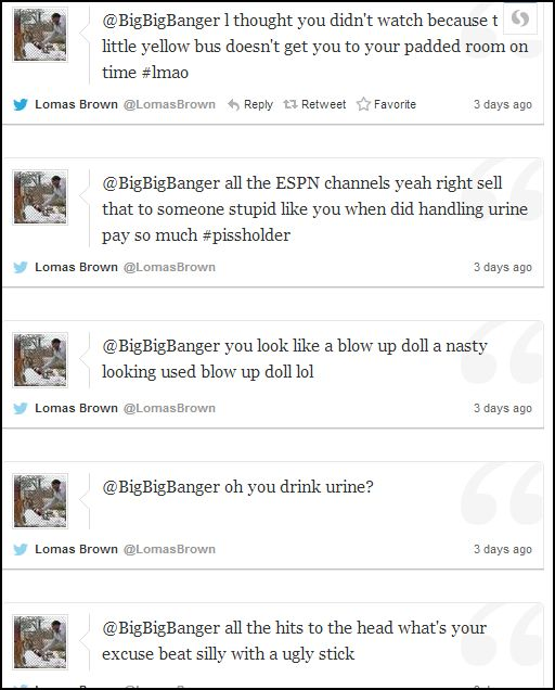 lomas disrespects fans 8
