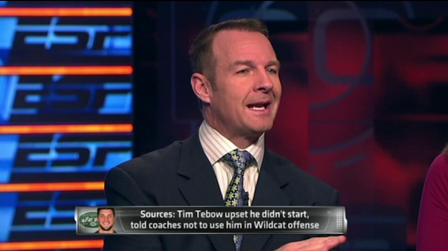 merril hodge says tebow is phony