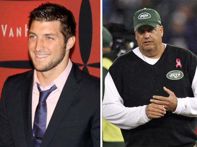Rex and Tebow
